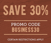 Save with promo code BUSINESS30